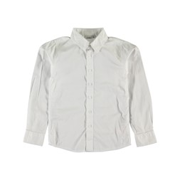 Nitfred white slim k shirt