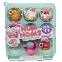 Num Noms cookies & milk