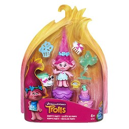 Trolls poppys party figur set
