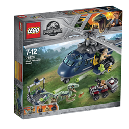 Lego Blue`s helicopter Pursuit