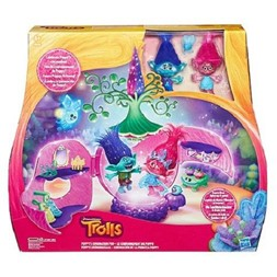 Trolls Poppy`s coronation pod playset