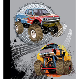 Minnebok monstertruck